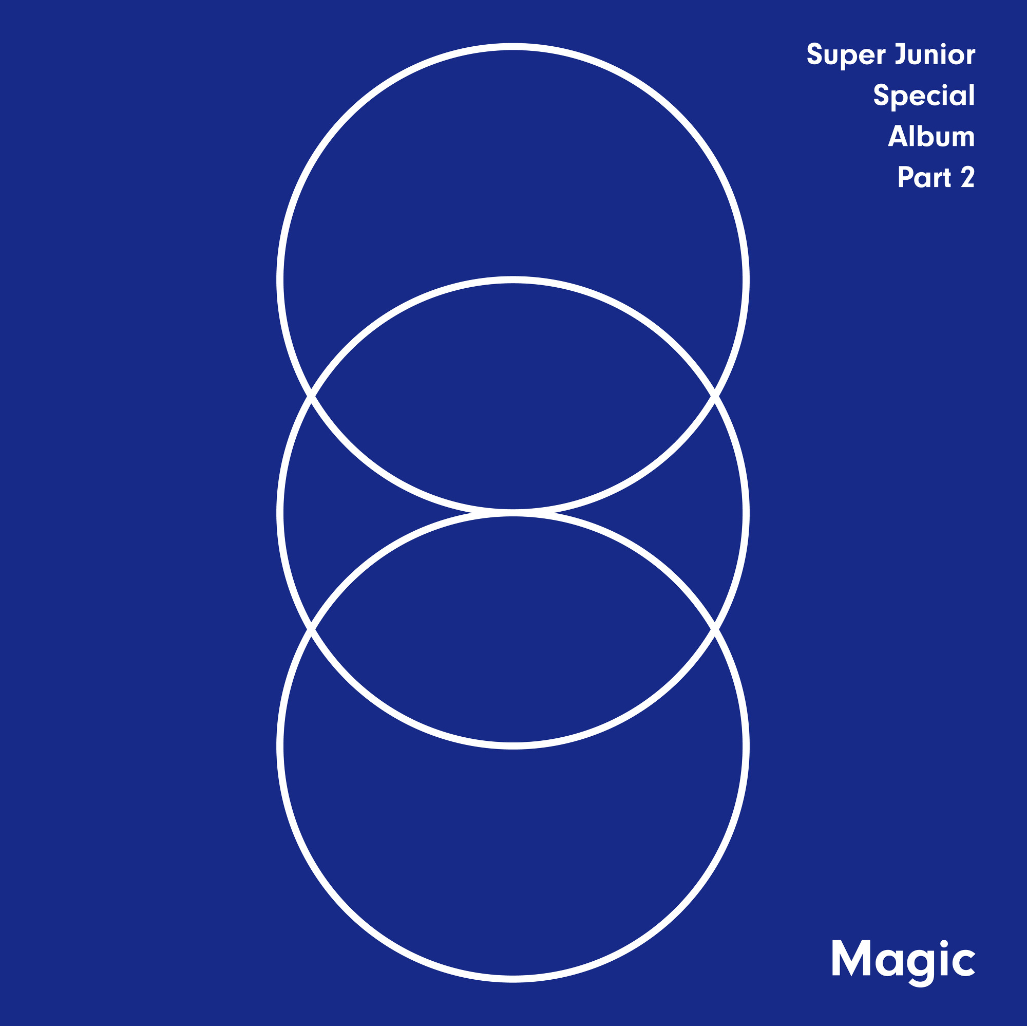 MAGIC - SUPER JUNIOR SPECIAL ALBUM PART.2 앨범정보
